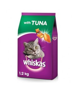 Whiskas Adult Cat Food Pocket Tuna 1.2 kg